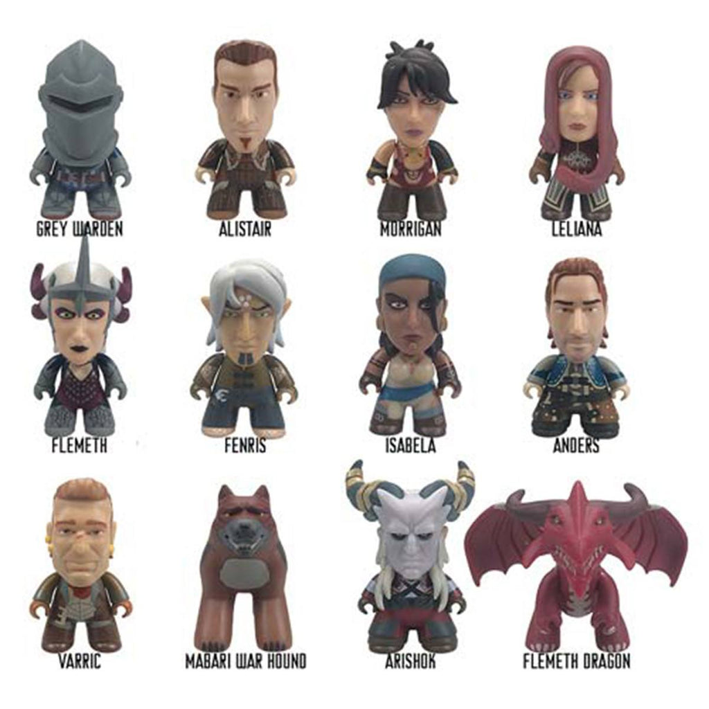 Dragon Age Titans Heroes Of Thedas Blind Box Vinyl Figure