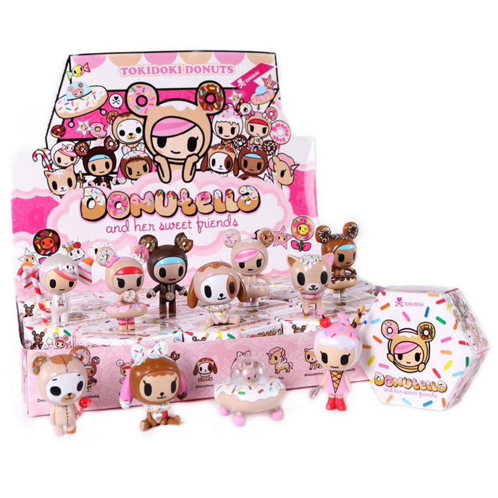 Tokidoki Donutella And Her Sweet Friends Blind Box Mini Figure - Radar Toys