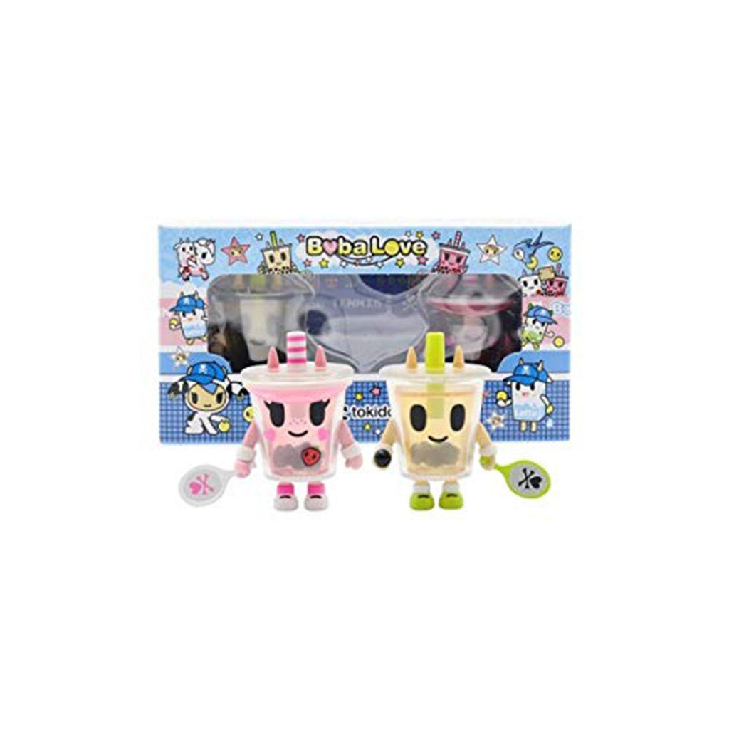 Tokidoki Boba Love 2 Figure Set