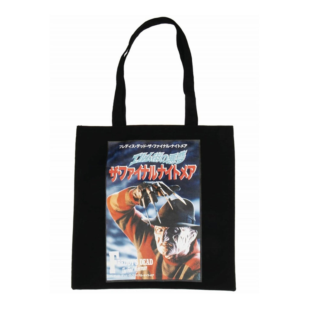 A Nightmare On Elm Street Freddy Krueger Canvas Tote