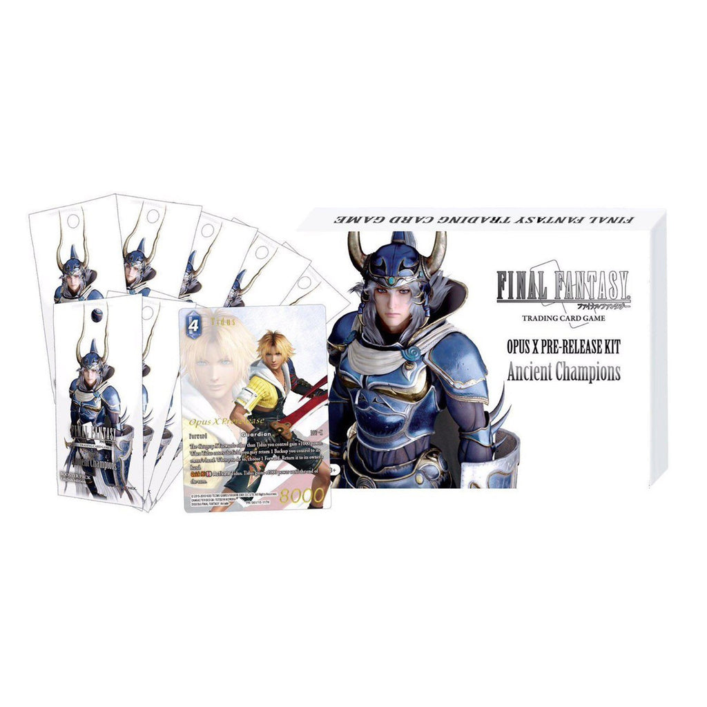 Final Fantasy Opus X Ancient Champions Pre Release Kit