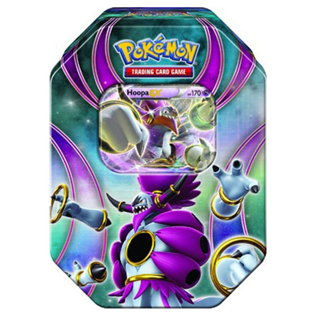 Pokemon Best Of Pokemon-EX Hoopa Tin Trading Card Game