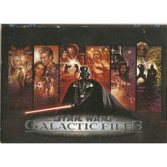 Trading Cards - Topps Star Wars Galactic Files 16 Card Pack