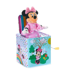 Traditional Toys - Disney Minnie Mouse Jack-In-The-Box Musical Toy