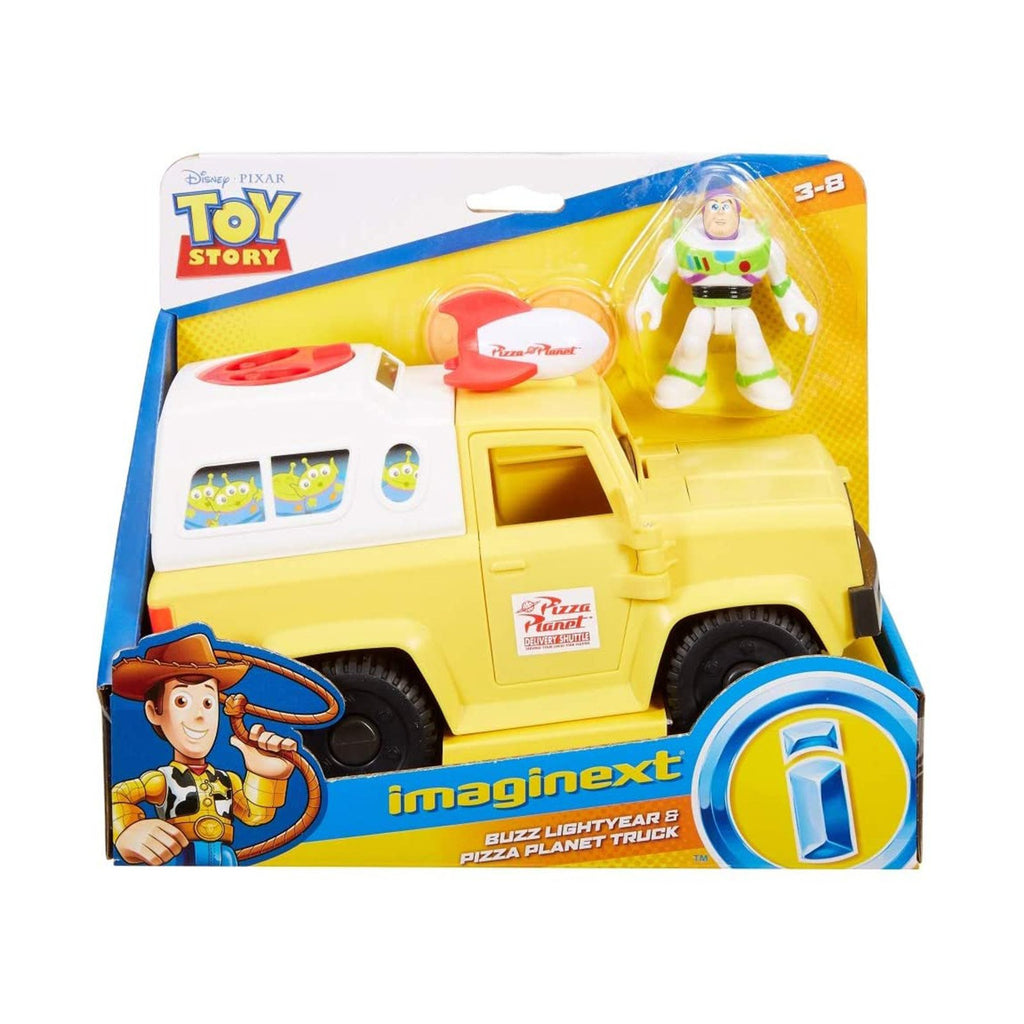 Fisher Price Disney Toy Story Buzz Lightyear & Pizza Planet Truck