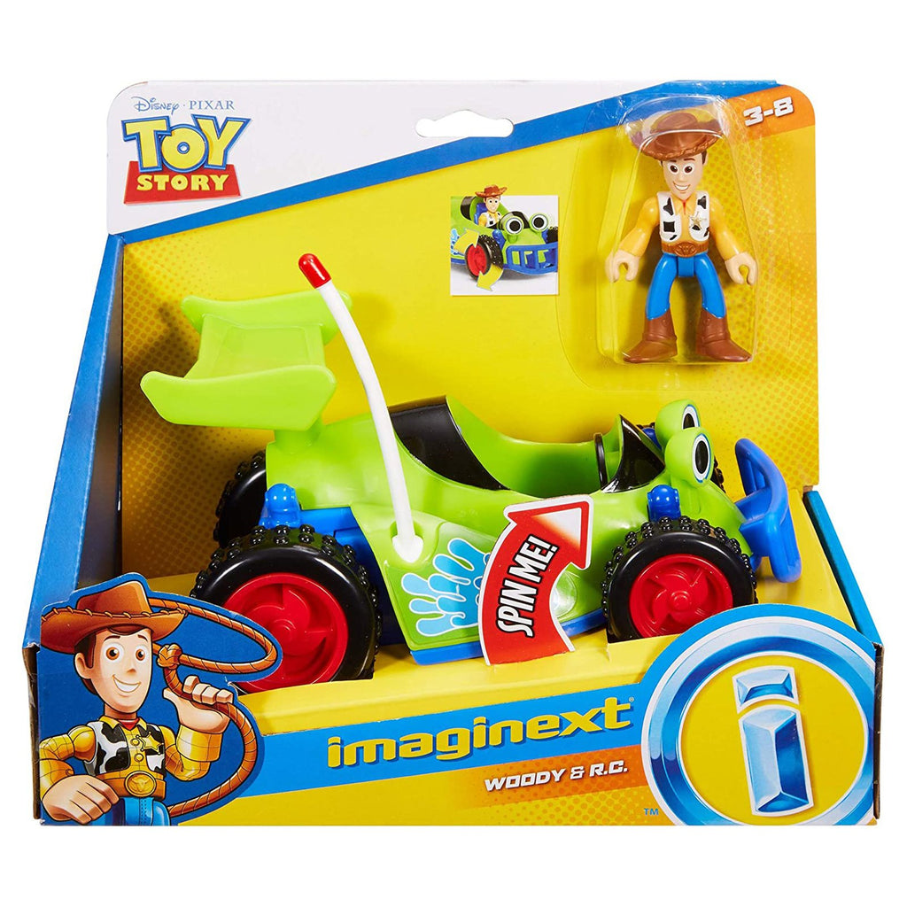 Fisher Price Disney Toy Story Woody And RC Car
