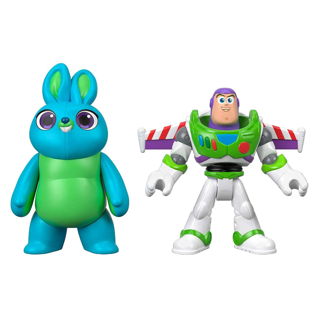 Fisher Price Imaginext Toy Story 4 Bunny And Buzz Set