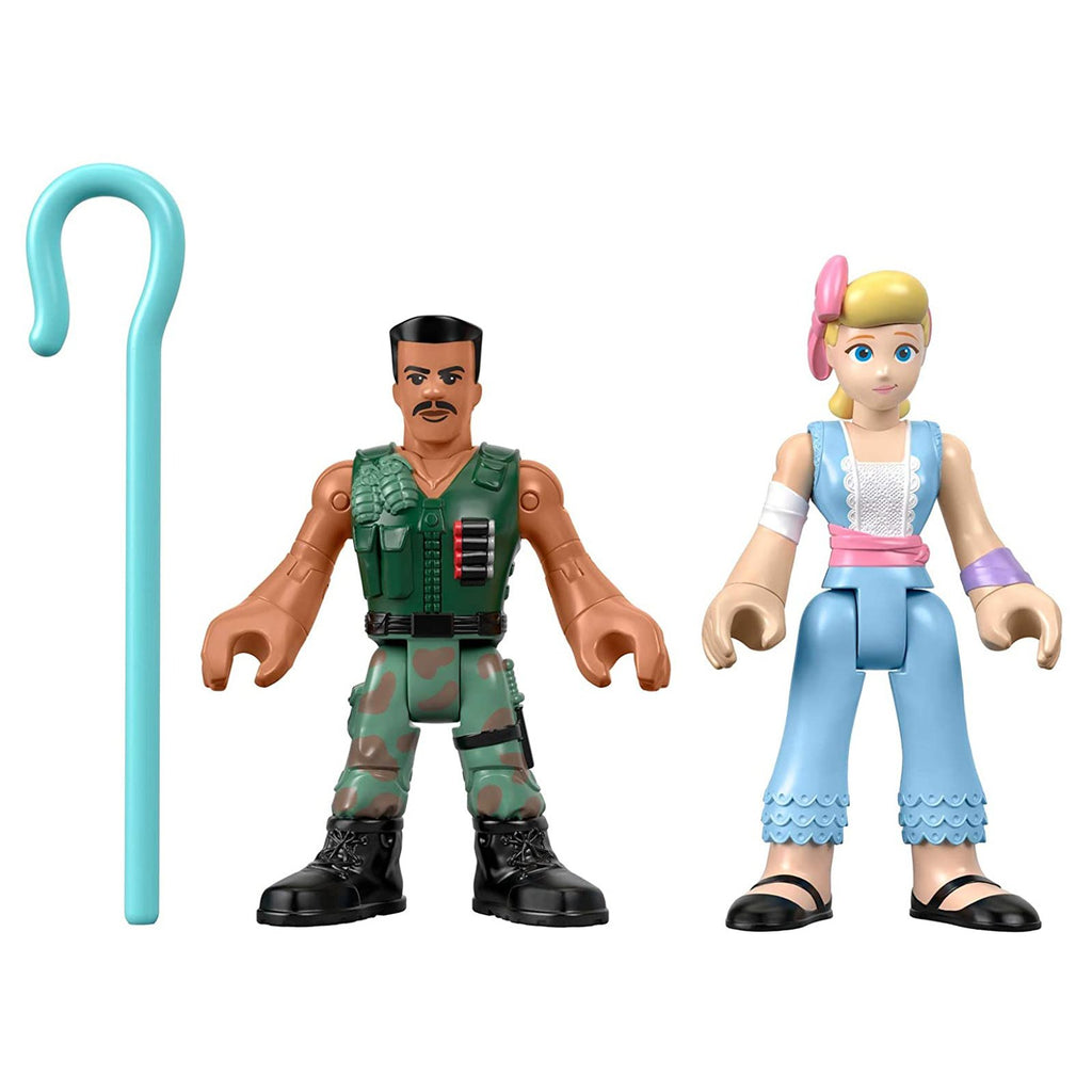 Fisher Price Imaginext Toy Story 4 Combat Carl And Bo Peep Set