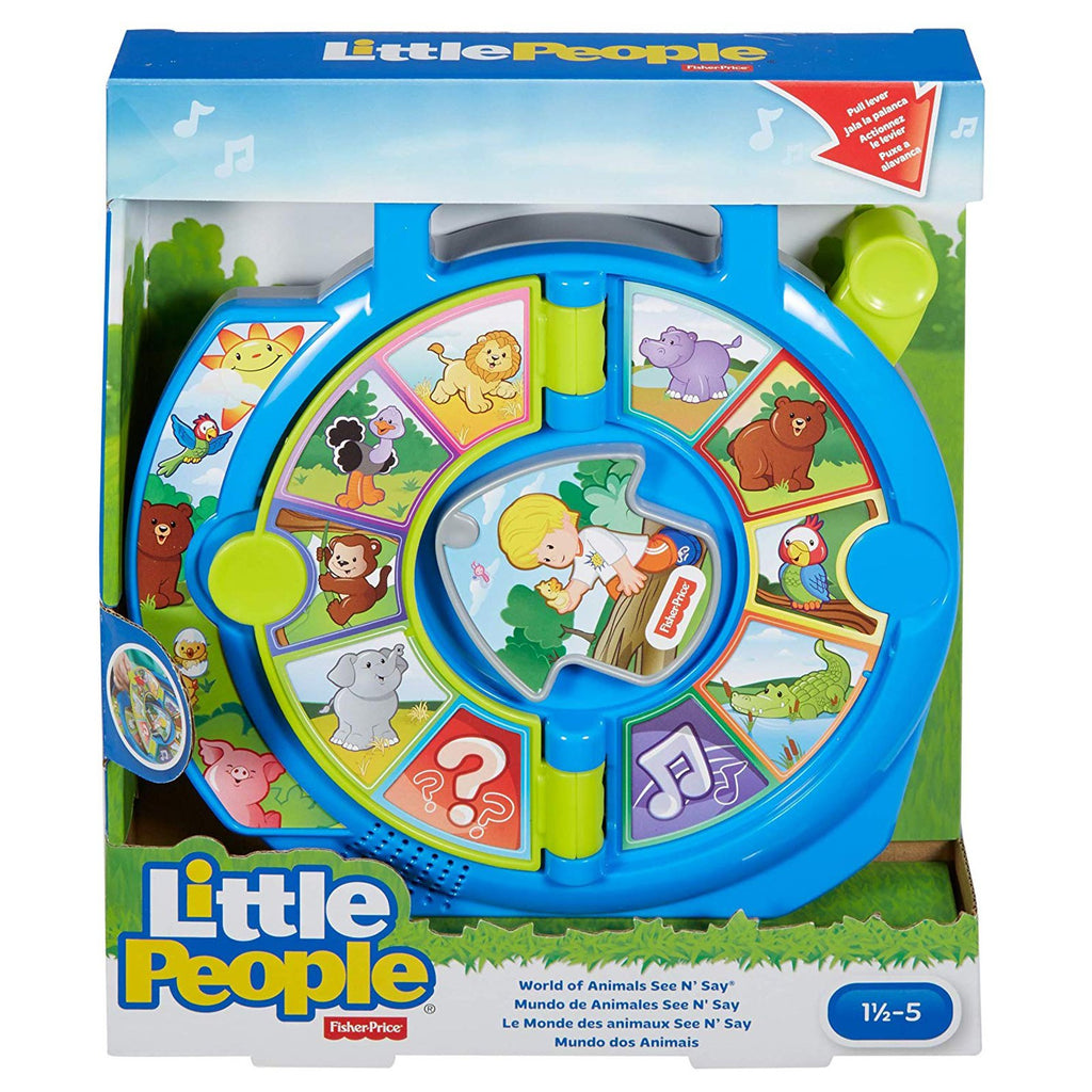Fisher Price Little People See N' Say World Of Animals