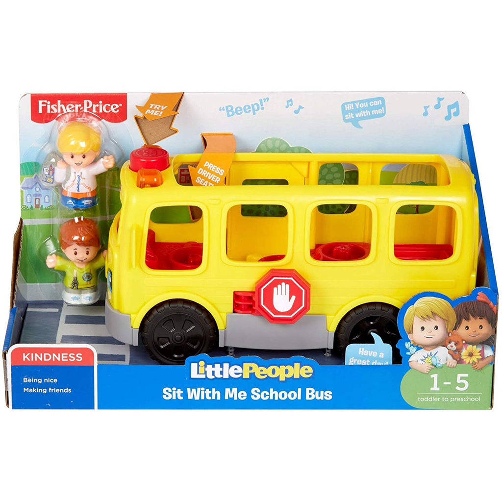 Fisher Price Little People Sit With Me School Bus Set
