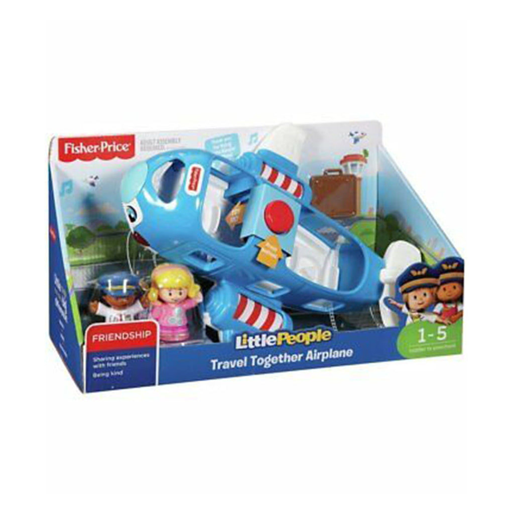 Fisher Price Little People Travel Together Airplane Set