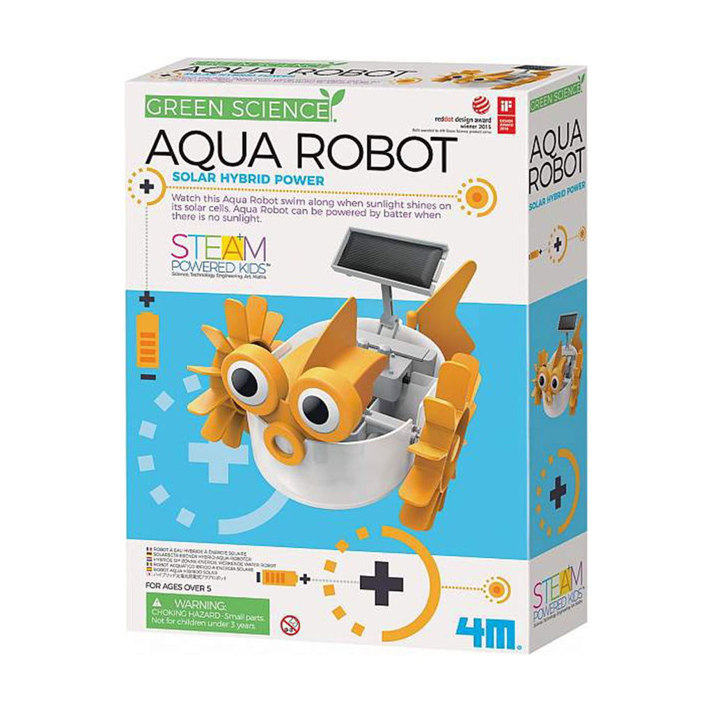Green Science Aqua Robot Solar Hybrid Power Set