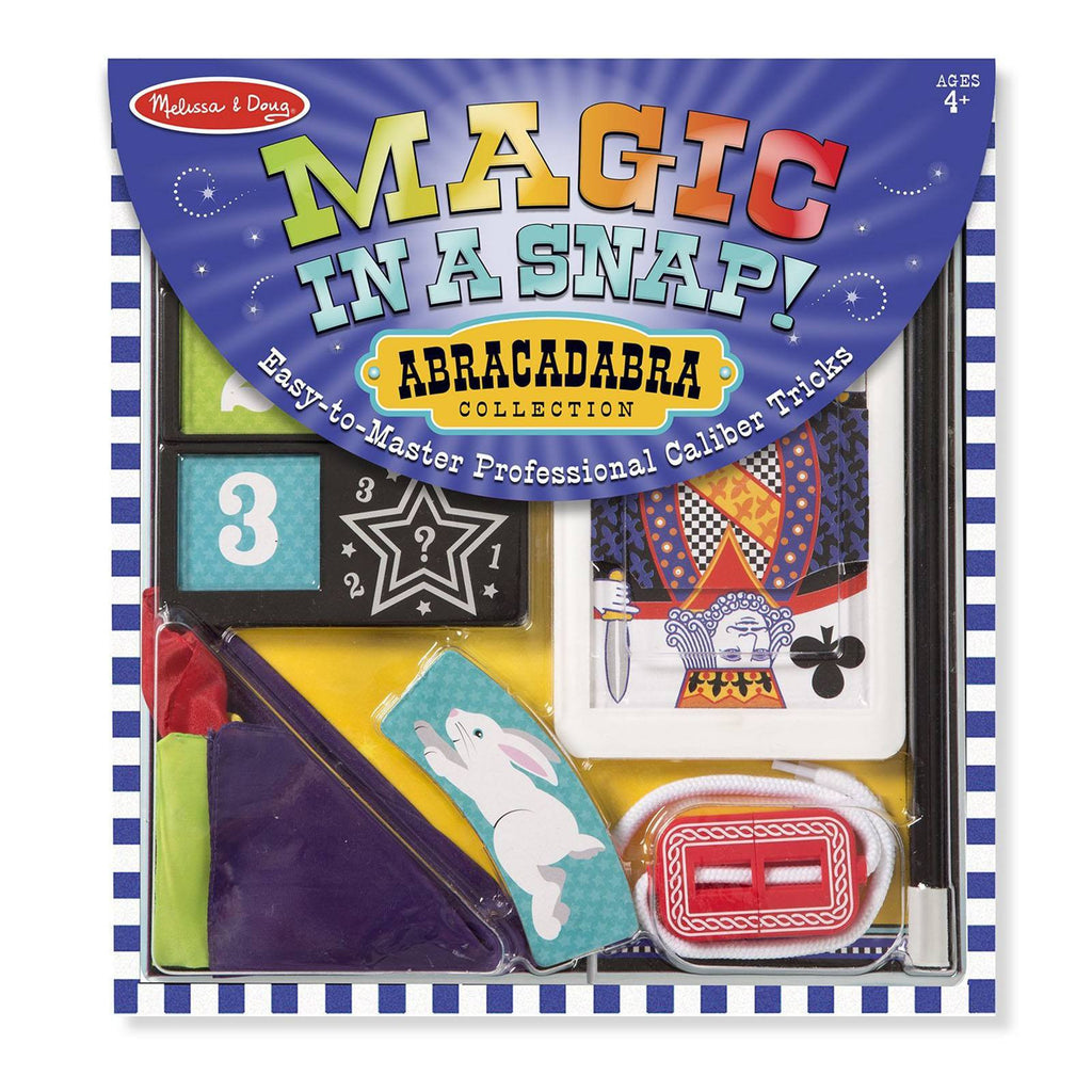 Melissa And Doug Abracadabra Magic In A Snap Set