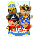 Traditional Toys - Melissa And Doug Bold Buddies Hand Puppets