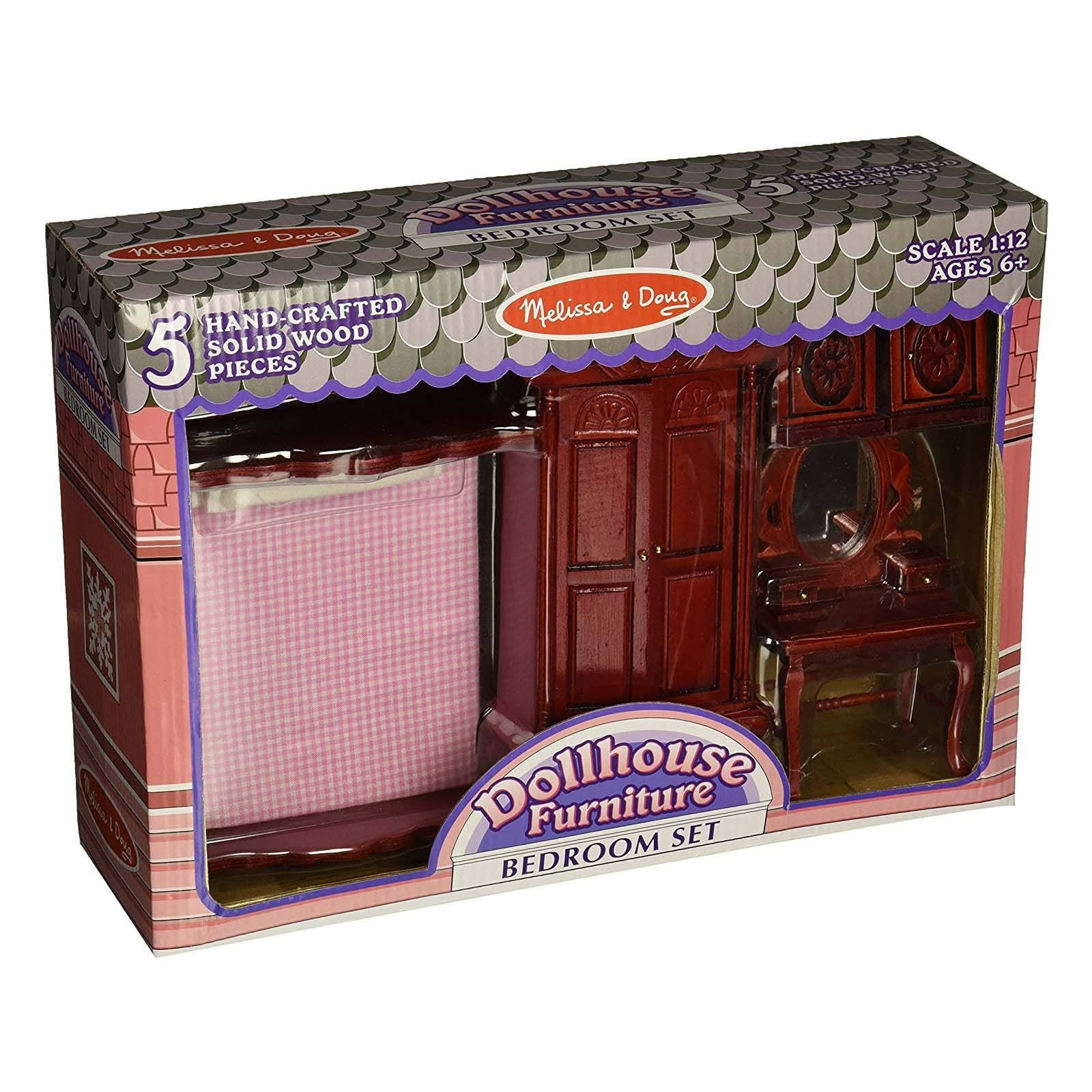 dollhouse furniture cheap. Melissa And Doug Doll House Furniture Bedroom Set Dollhouse Cheap