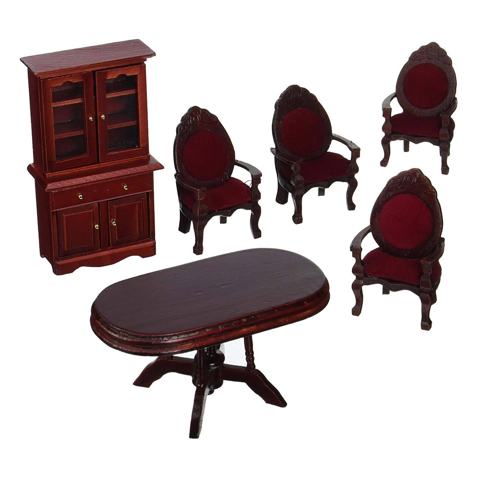 Melissa And Doug Doll House Furniture Dining Room Set