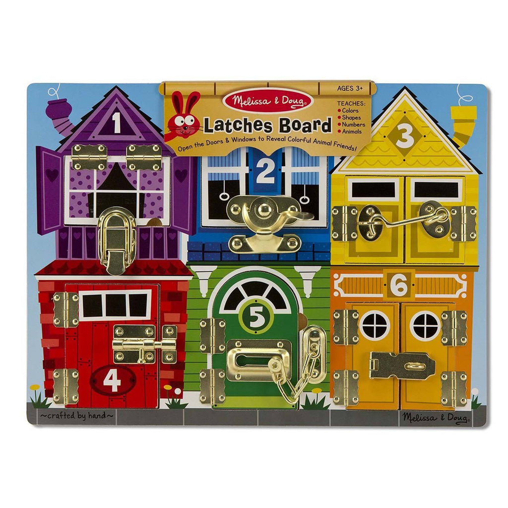 Traditional Toys - Melissa And Doug Latches Board