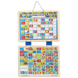 Traditional Toys - Melissa And Doug Magnetic Responsibility Chart