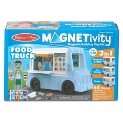 Traditional Toys - Melissa And Doug Magnetivity Food Truck Play Set