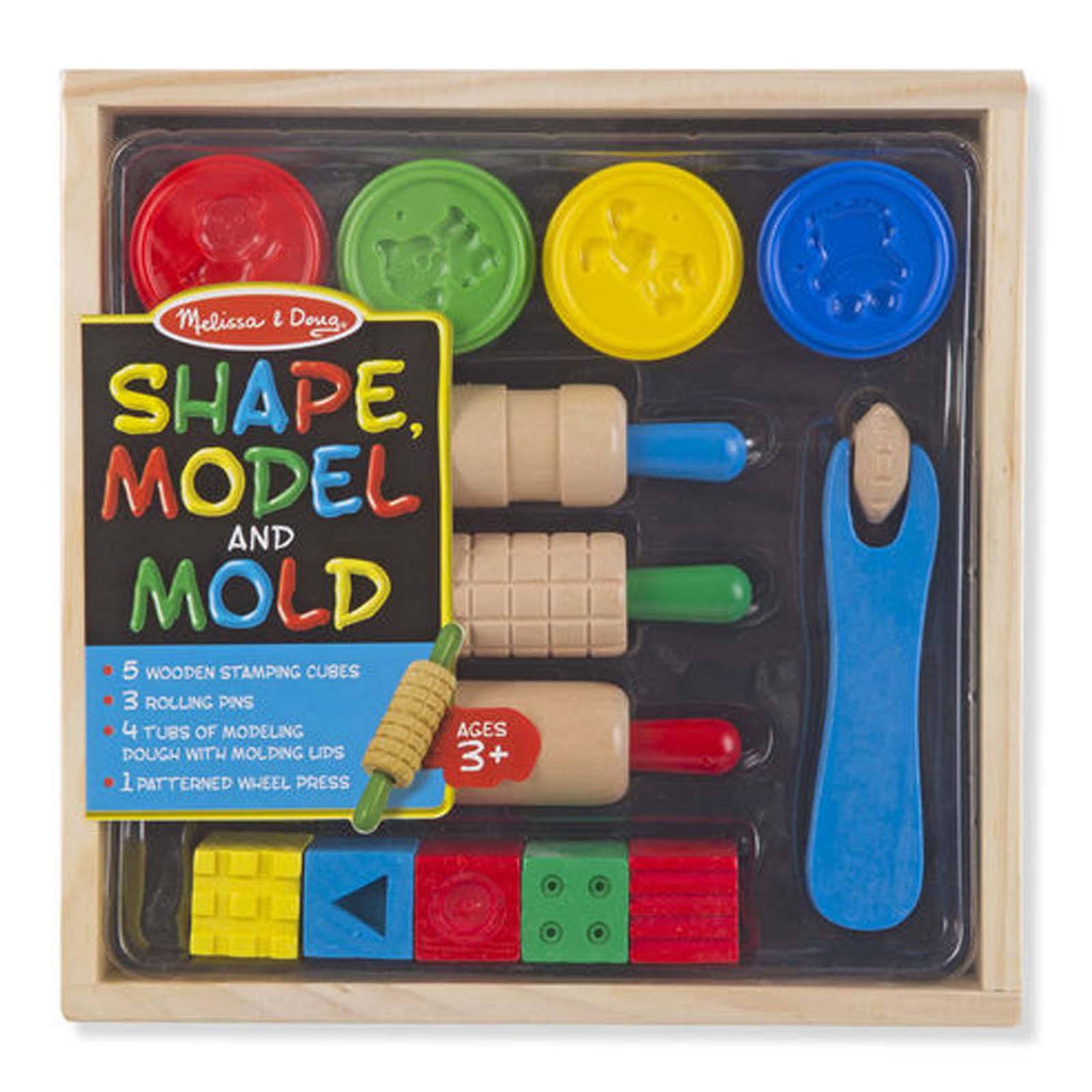 Traditional Toys - Melissa And Doug Shape Model And Mold Set