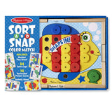 Traditional Toys - Melissa And Doug Sort And Snap Color Match Set