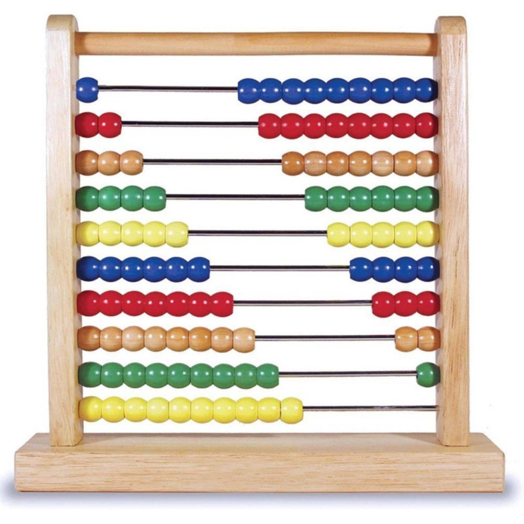 Traditional Toys - Melissa And Doug Wooden Classic Toy Abacus