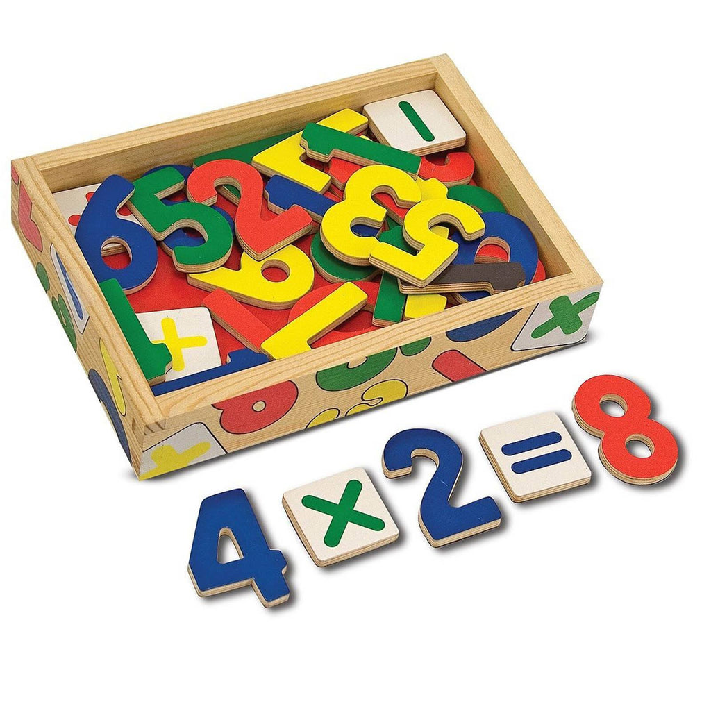 Traditional Toys - Melissa And Doug Wooden Number Magnets Set