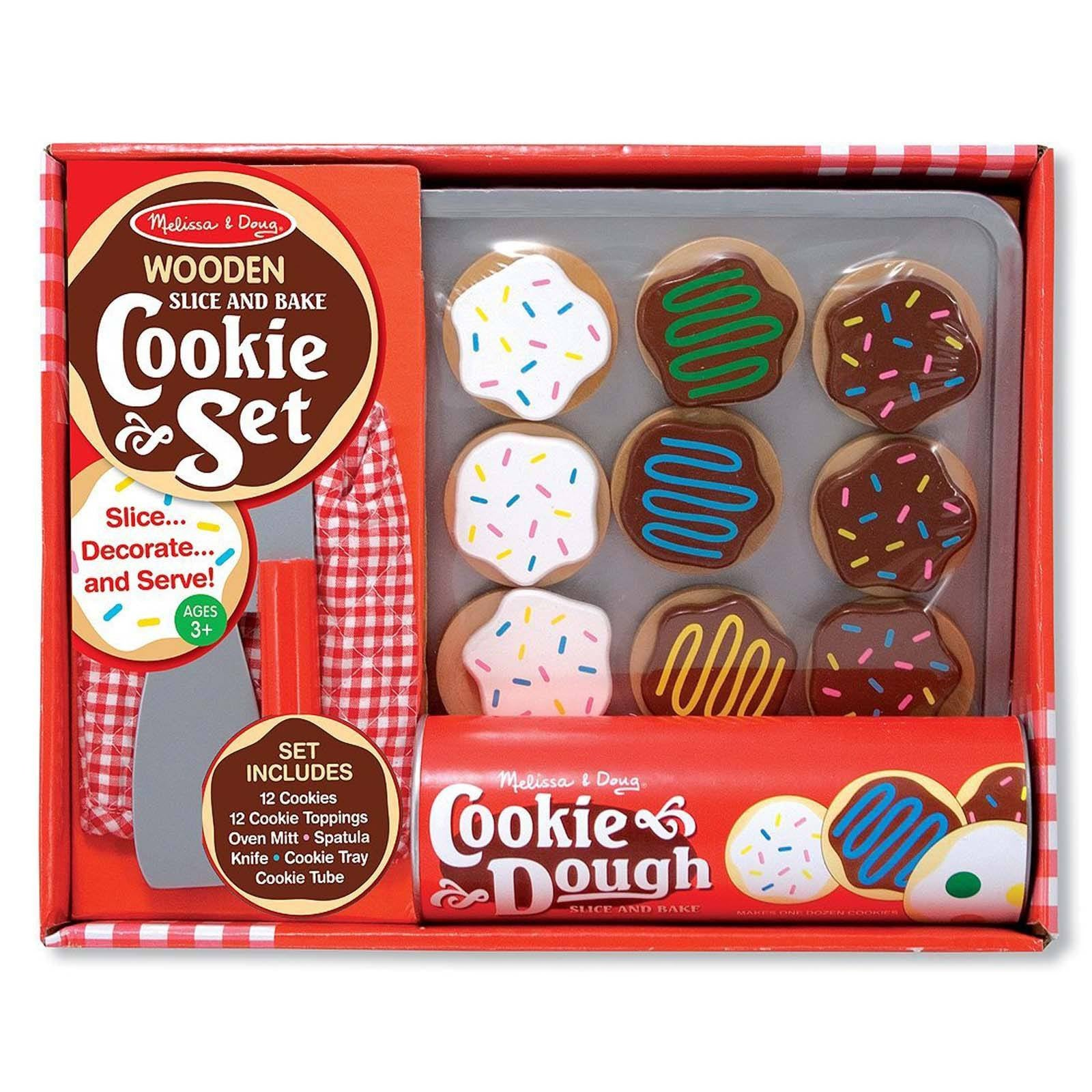 Melissa And Doug Wooden Slice And Cookie Set