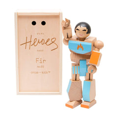 Traditional Toys - Playhard Heroes Fir Wooden Action Figure