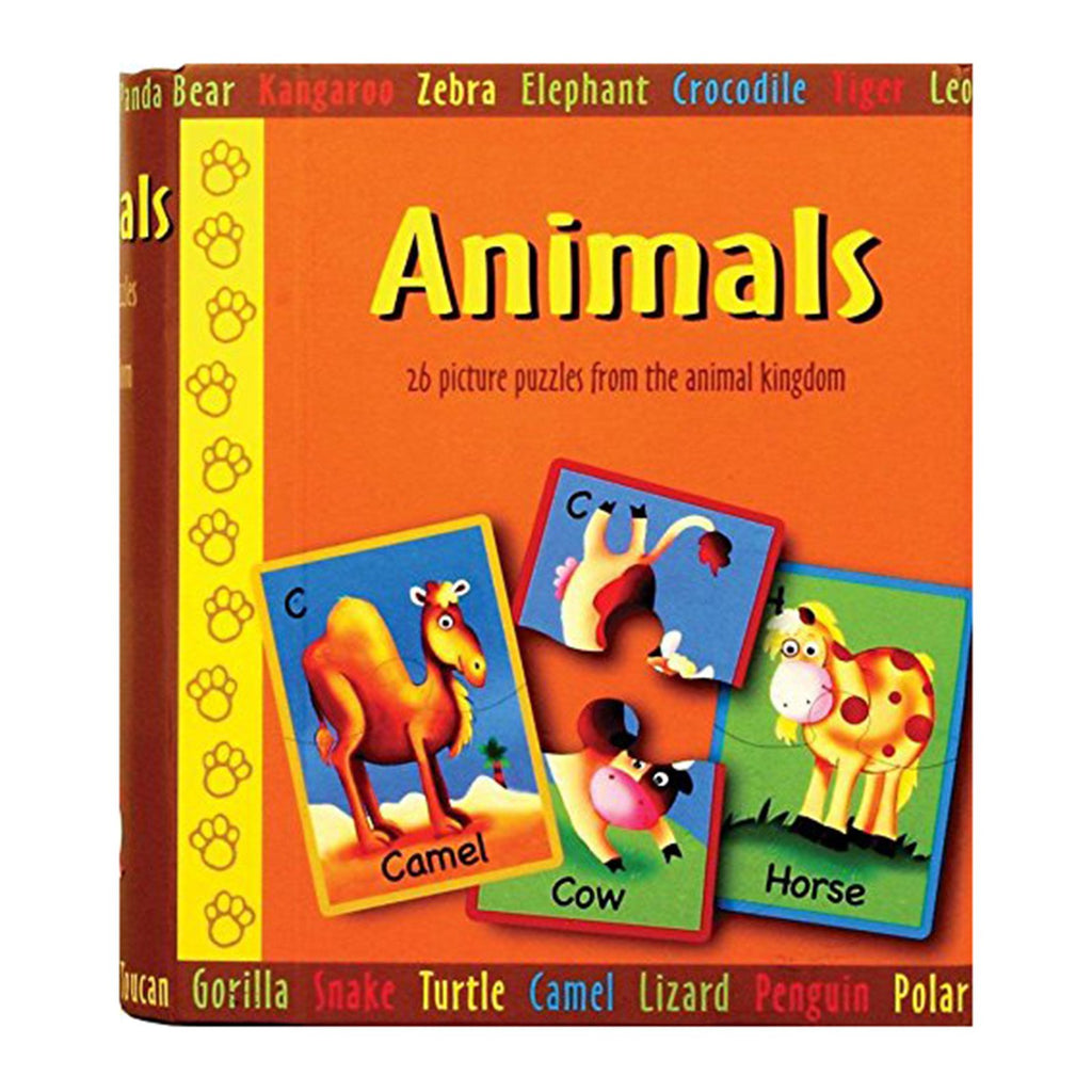 Spice Box Animals 26 Piece Puzzles