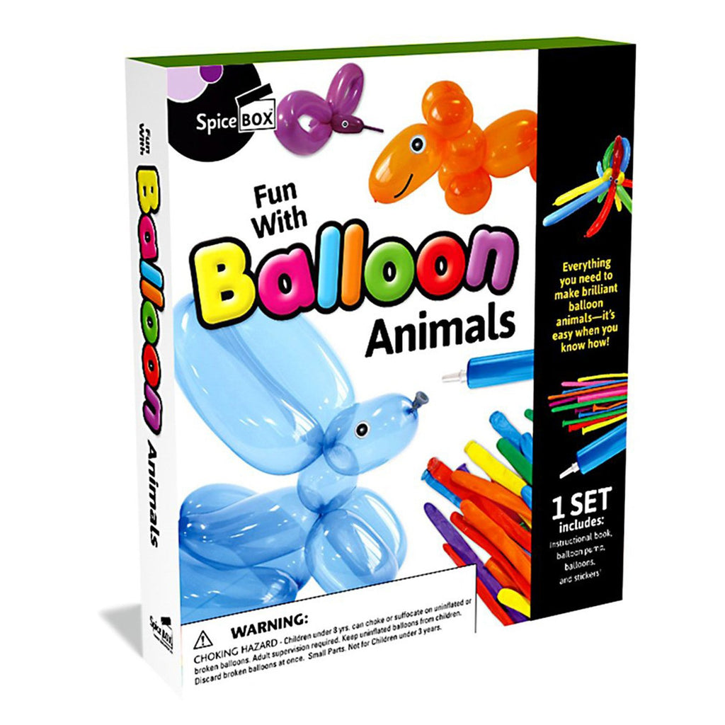 Spice Box Balloon Animals Set