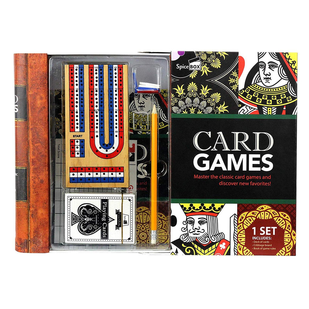 Spice Box Card Games Set