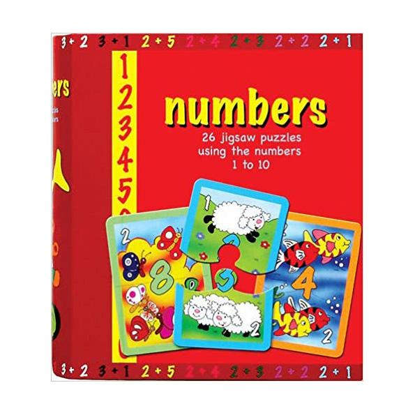Spice Box Numbers 26 Picture Puzzles