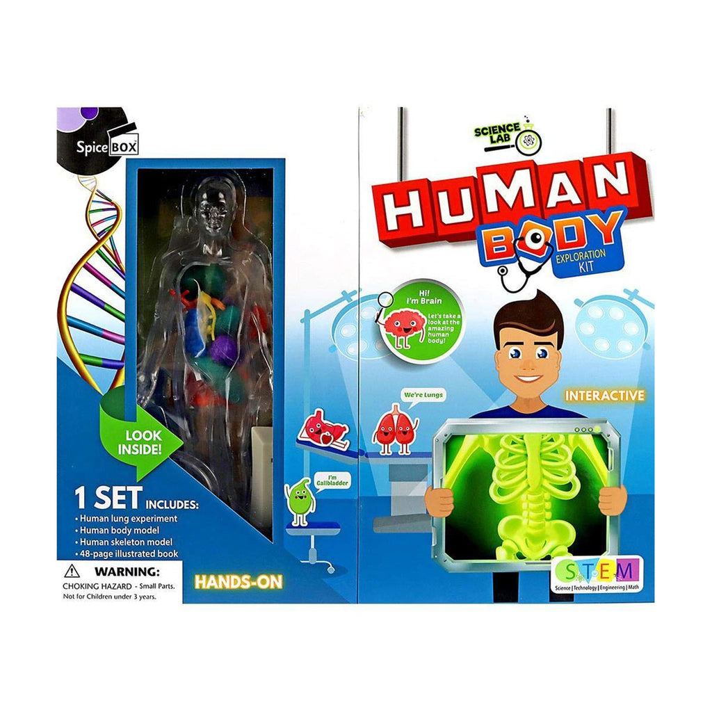 Spice Box Science Lab Human Body Exploration Set