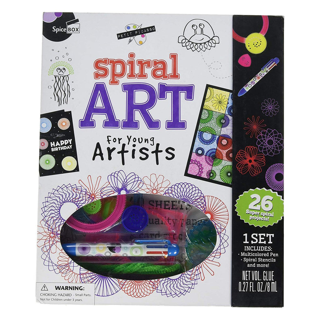 Spice Box Spiral Art For Young Artists Set