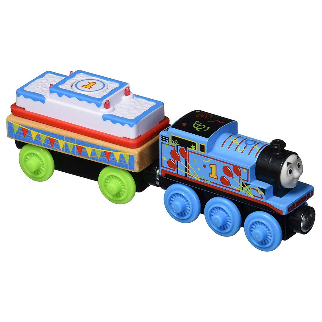 Thomas And Friends Wood Birthday Thomas Train Set