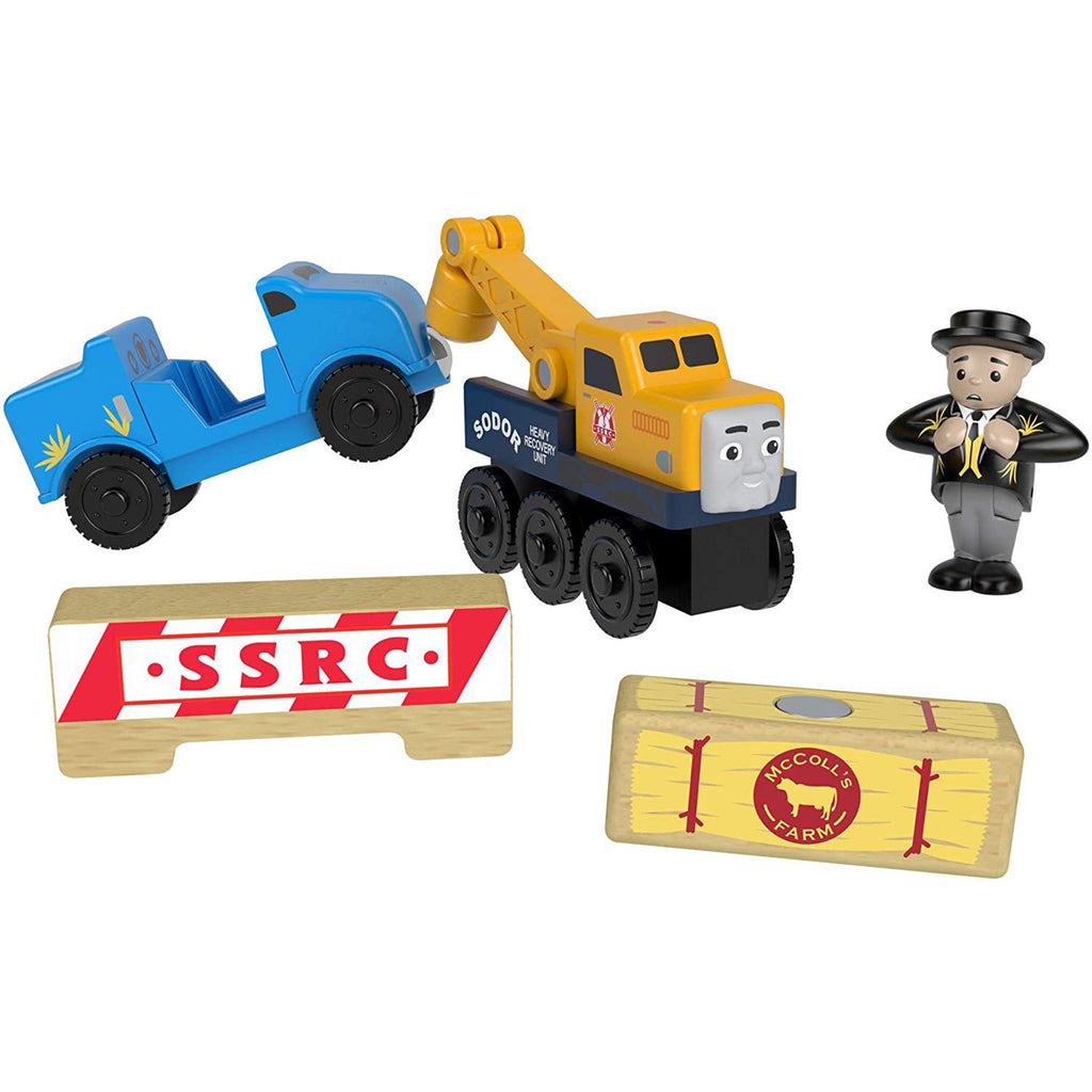 Thomas And Friends Wood Butch's Road Rescue Train Set