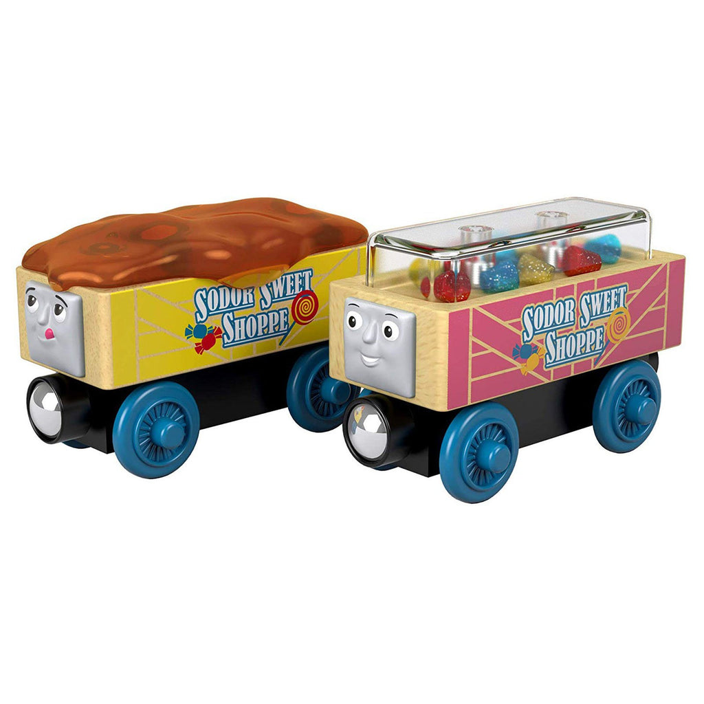 Thomas And Friends Wood Candy Cars Train Set