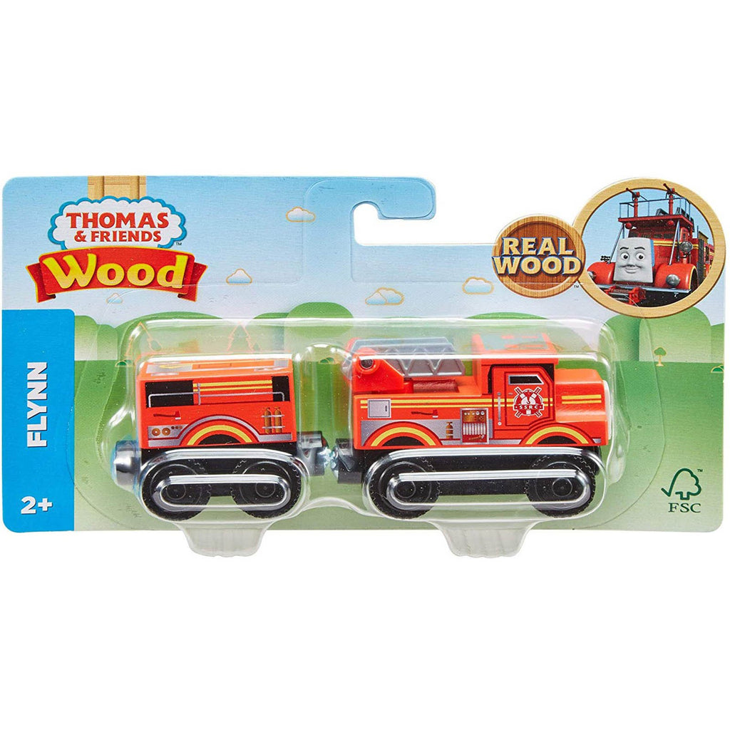 Traditional Toys - Thomas And Friends Wood Flynn Train Set