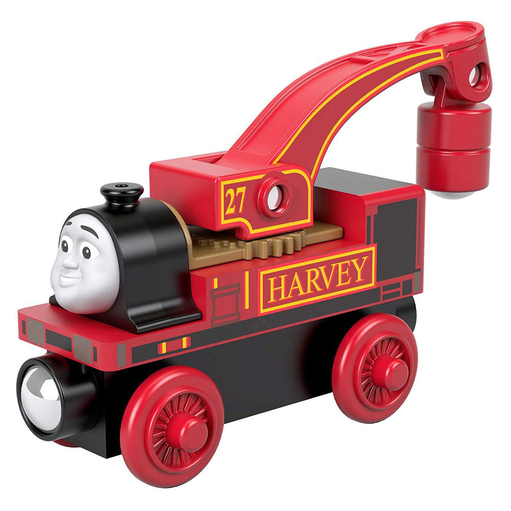 Thomas And Friends Wood Harvey Train Set