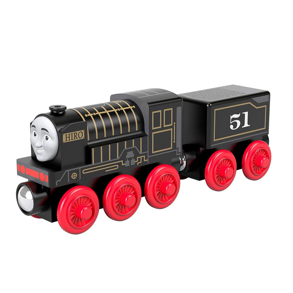 Thomas And Friends Wood Hiro Train Set