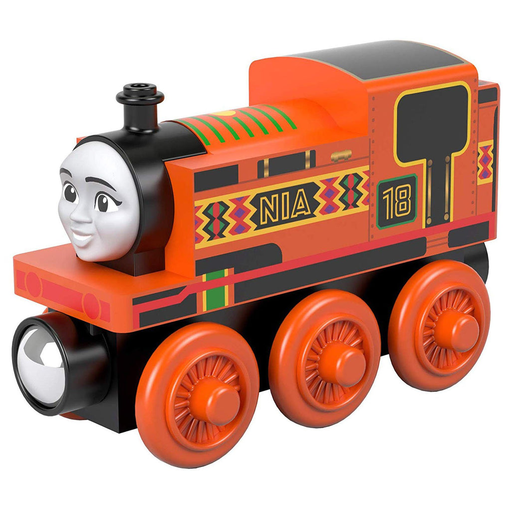 Thomas And Friends Wood Nia Train Set