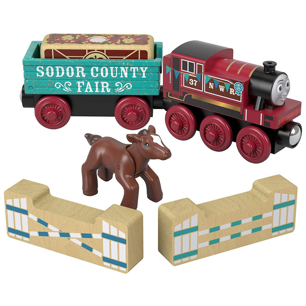 Thomas And Friends Wood Rosie's Prize Pony Train Set