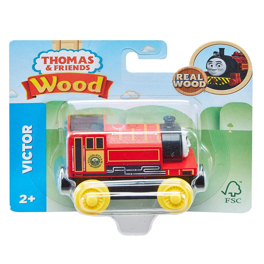 Thomas And Friends Wood Victor Train Set