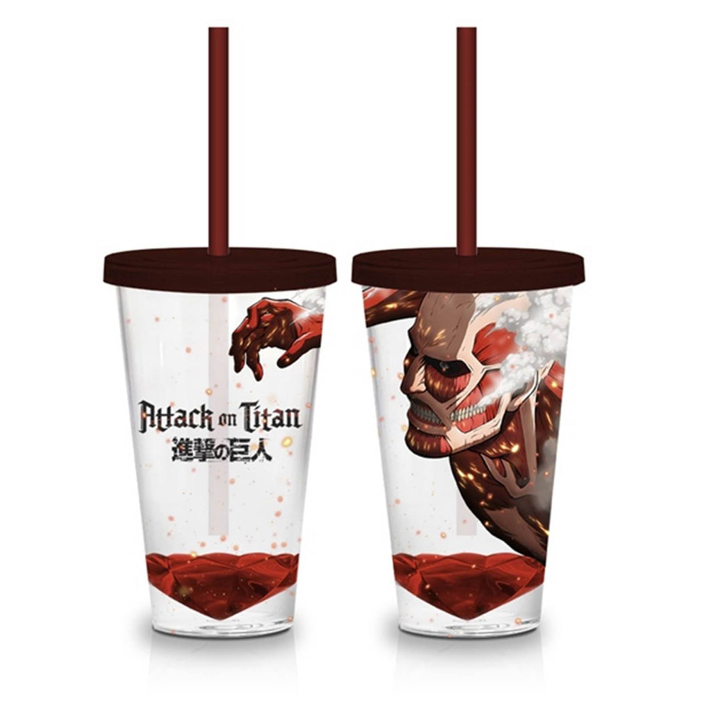 Attack On Titan Titan 18 oz. Acrylic Travel Cup
