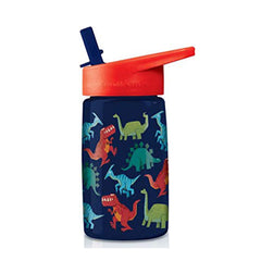 Travel Cups - Crocodile Creek Dinosaurs Tritan 16 Oz Water Bottle