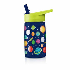 Travel Cups - Crocodile Creek Eco Kids Solar System 16 Oz Water Bottle