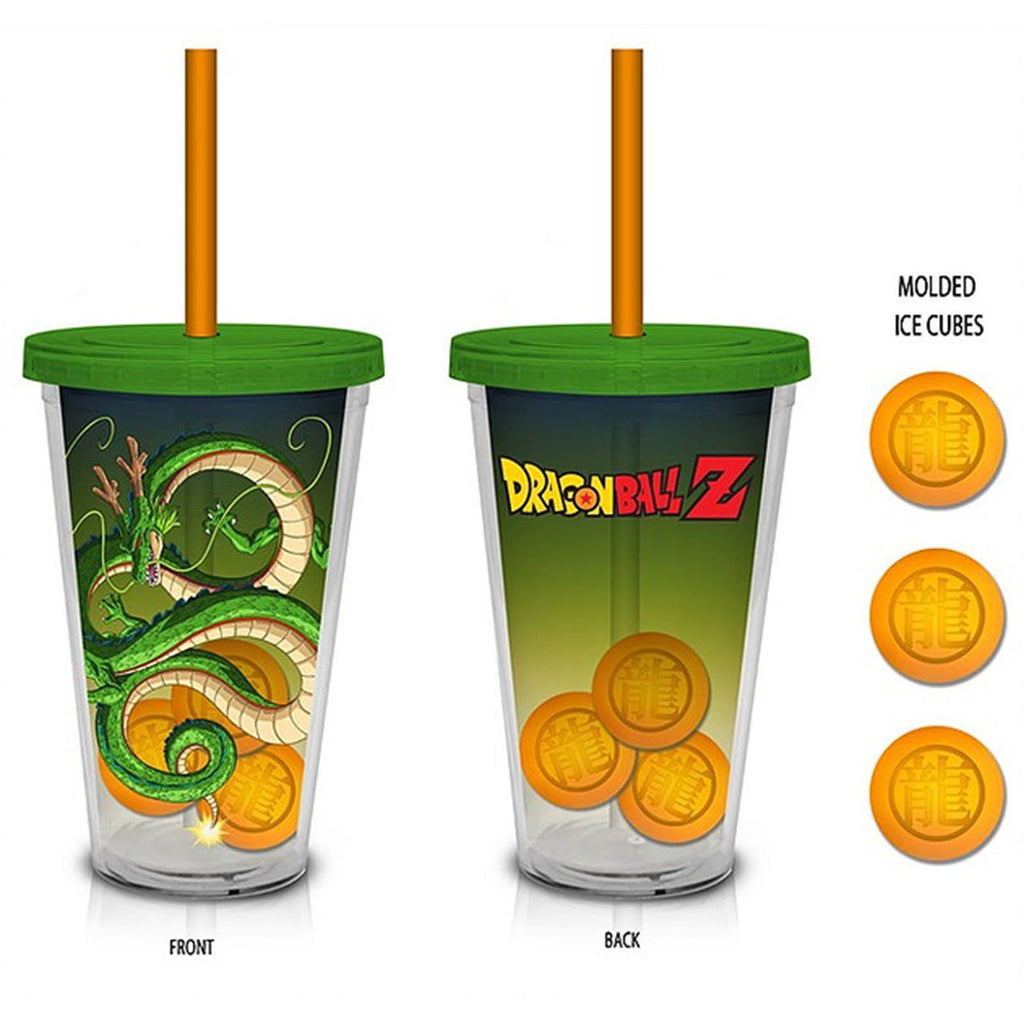 Dragon Ball Z Shenron 18 oz. Carnival Cup With Molded Ice Cubes