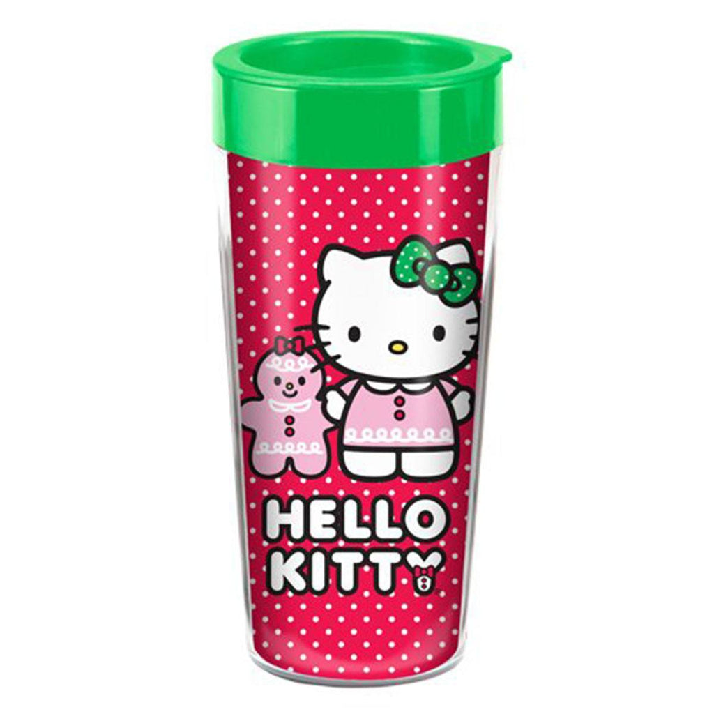 Hello Kitty 16 oz. Plastic Travel Mug