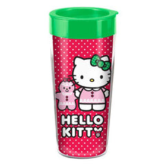 Hello Kitty 16 oz. Plastic Travel Mug - Radar Toys
